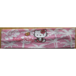 """Bandeau pour cheveux Hello Kitty rose """"Hawai"""""""