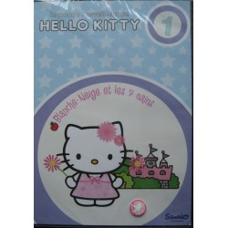 """DVD Hello Kitty """" Blanche Neige et les 7 nains"""""""