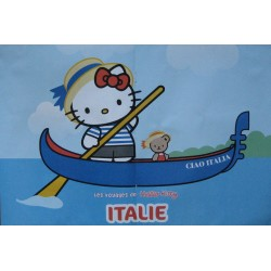 """Poster A3 Hello Kitty """"Italie"""""""