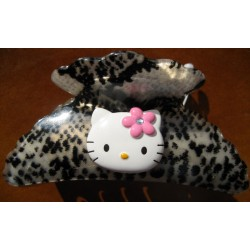 Pince pour cheveux Hello Kitty serpent