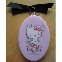 Mirroir Hello Kitty rose 8x5cm