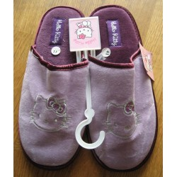 Chaussons Hello Kitty mauves T 41
