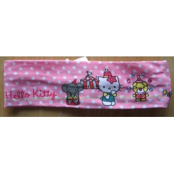 "Bandeau pour cheveux Hello Kitty rose ""Circus"""