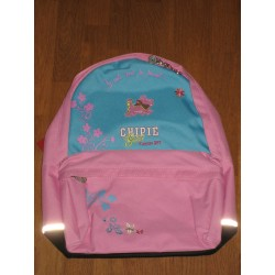 Sac a dos Chipie rose 38x33cm