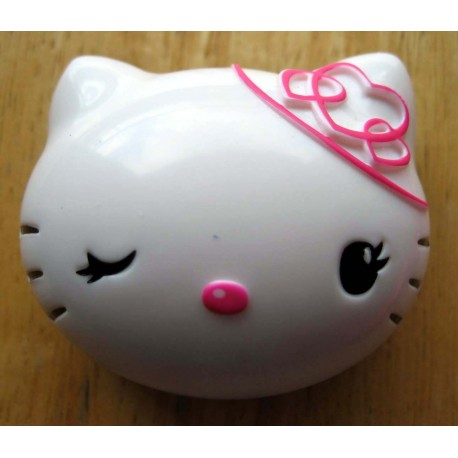 "Baume a levres Hello Kitty ""Tete de Kitty"" parfum ""Fruits rouges"""