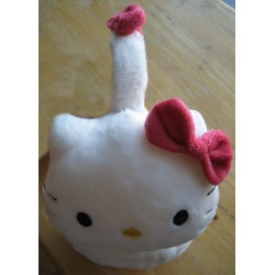 Protections pour oreilles Hello Kitty blanches