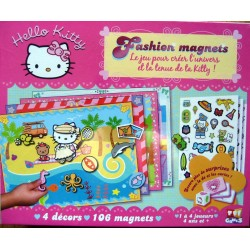 "Jeux Hello Kitty ""Fashion Magnets"""