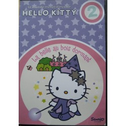 "DVD Hello Kitty "" La Belle au bois dormant"""