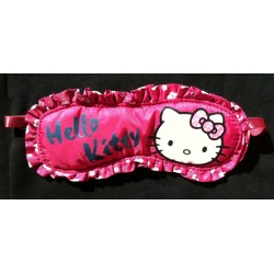 "Masque de nuit Hello Kitty rouge clair ""Kitty au Japon 2"""
