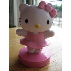 "Figurine Hello Kitty  ""Danseuse"" tampon encreur H 7cm"