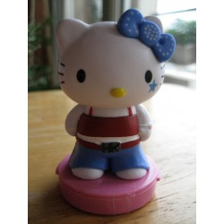 "Figurine Hello Kitty  ""Rebel"" tampon encreur H 7cm"