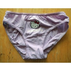 Culotte Hello Kitty mauve taille S/XS