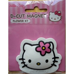 "Magnet Hello Kitty ""Flower"" 6x7cm"