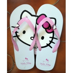 Tongs Hello Kitty blanches pointure 40/41