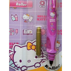 Roller Hello Kitty mauve pointe moyenne
