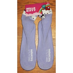 "Chaussons Hello Kitty mauves ""Facon chaussette"" T 40/41"
