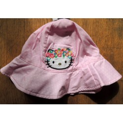 """Bob Hello Kitty rose a poids blancs """"Hawai"""" taille unique"""