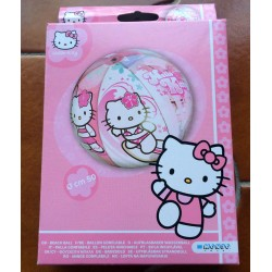 "Ballon gonflable Hello Kitty 'Hibiscus"" diametre 50cm"