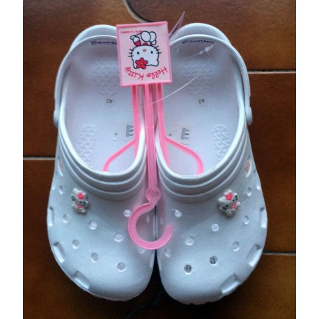 Chaussures de plage Hello Kitty blanche T40
