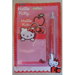 Kit de 4 blocs de post-it et stylo Hello Kitty