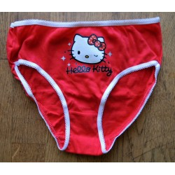 Culotte pour enfant Hello Kitty rouge taille 6/8 ans