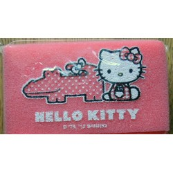 Eponge Hello Kitty rose 11x6x3cm