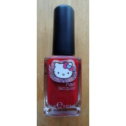 Vernis à ongles Hello Kitty rouge 11ml