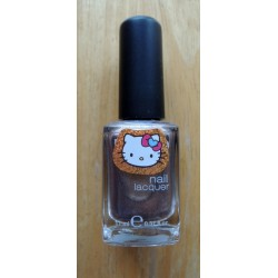 Vernis à ongles Hello Kitty marron pailleté 11ml