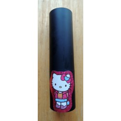 "Rouge à levres Hello Kitty mauve pailleté ""Ecolier"" n922"