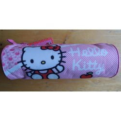 Trousse Hello Kitty rose vichy 22cmx8cm de diametre