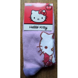 Chaussettes Hello Kitty mauves T31-34