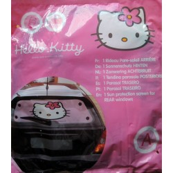 Rideau pare soleil arriere rose Hello Kitty 50x100cm