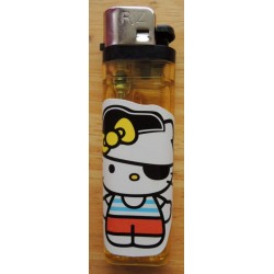 "Briquet Hello Kitty jaune  ""PIrate"""