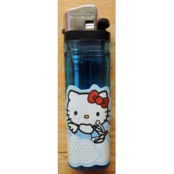 "Briquet Hello Kitty bleu  ""Cupidon"""