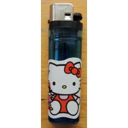 "Briquet Hello Kitty bleu  ""Poupée"""