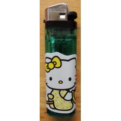 "Briquet Hello Kitty vert  ""Cheval"""