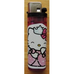 "Briquet Hello Kitty mauve  ""Princess"""