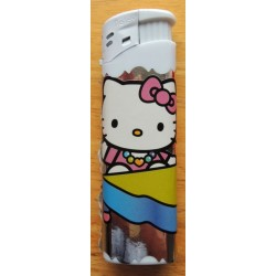 "Briquet Hello Kitty blanc  ""Piano"""