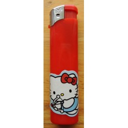 "Briquet Hello Kitty rouge  ""Cupidon"""