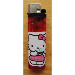 "Briquet Hello Kitty rouge  ""Bulles de savon"""