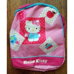 "Sac à dos Hello Kitty ""Balloon"" rose 27x26x7cm"