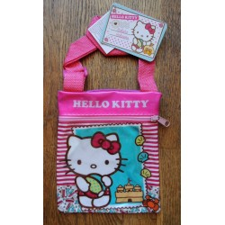 "Mini pochette Hello Kitty ""Chateau"" 18x15cm"
