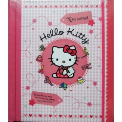 Journal intime Hello Kitty rose vichy a spirales 23x20cm