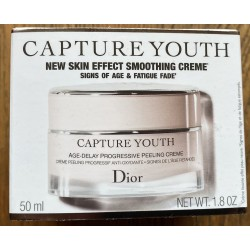 "Creme anti age ""Capture Youth"" de DIOR 50ml CRÈME PEELING PROGRESSIF ANTI-OXYDANTE"
