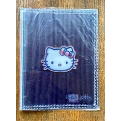 Classeur Hello Kitty mauve format A4