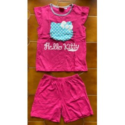 """T-shirt long Hello Kitty rose  """"Ballet & Classes"""" taille M"""
